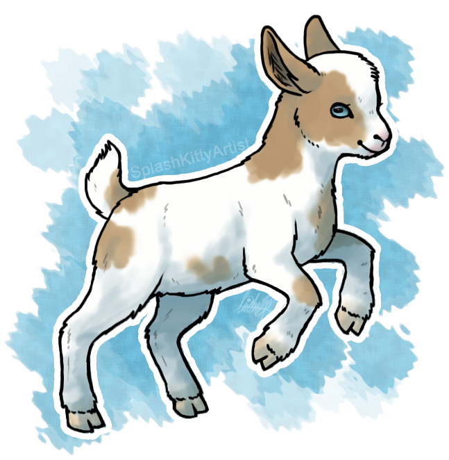 Maa by psarahdactyls on. Clipart goat alpine goat