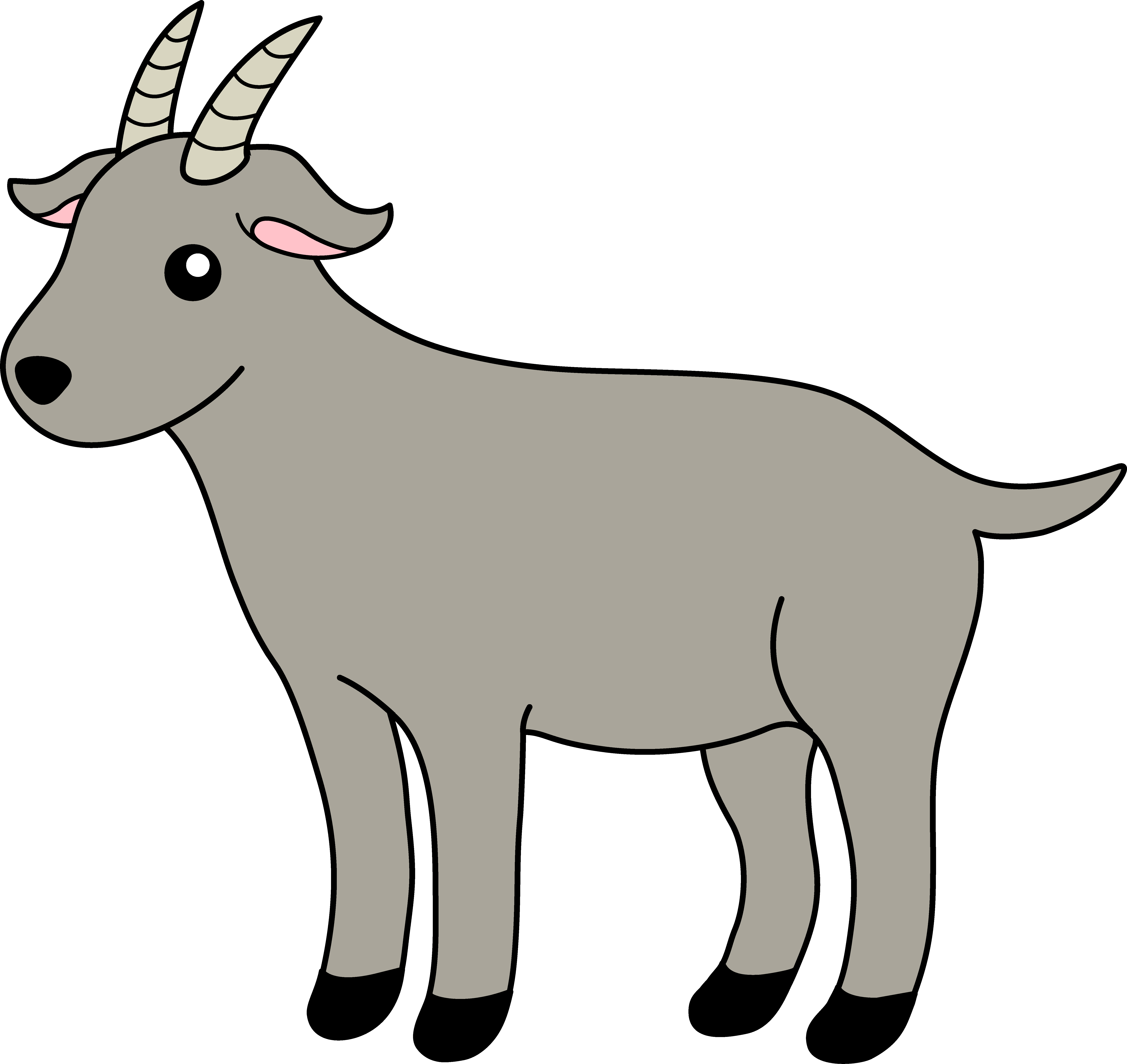 . Goat clipart baby goat