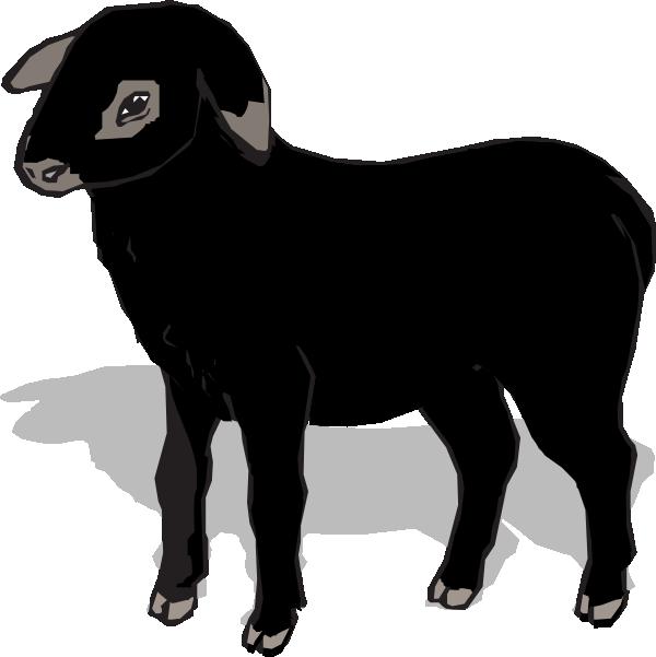 Silhouette clip art at. Lamb clipart female sheep