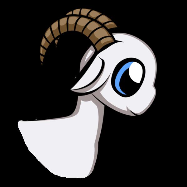 By justnidea on deviantart. Clipart goat cute anime