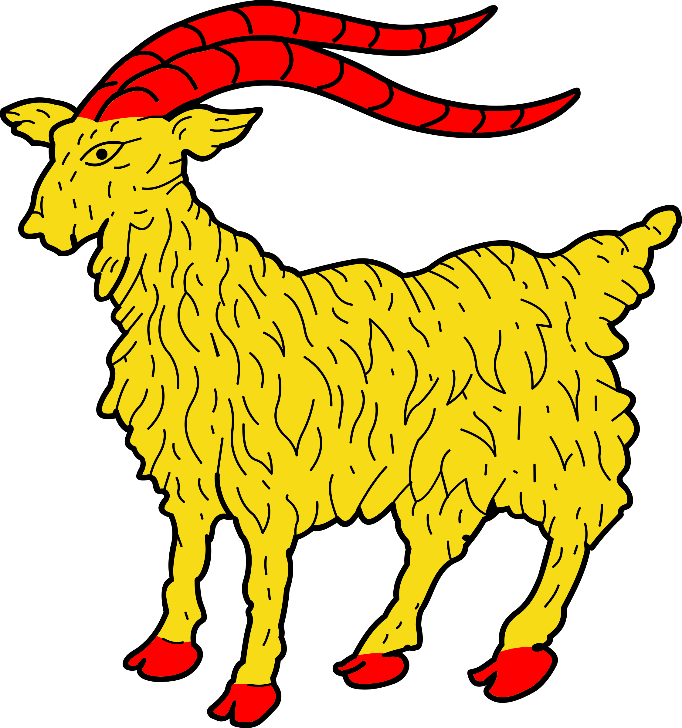 Icons png free and. Goat clipart two goat