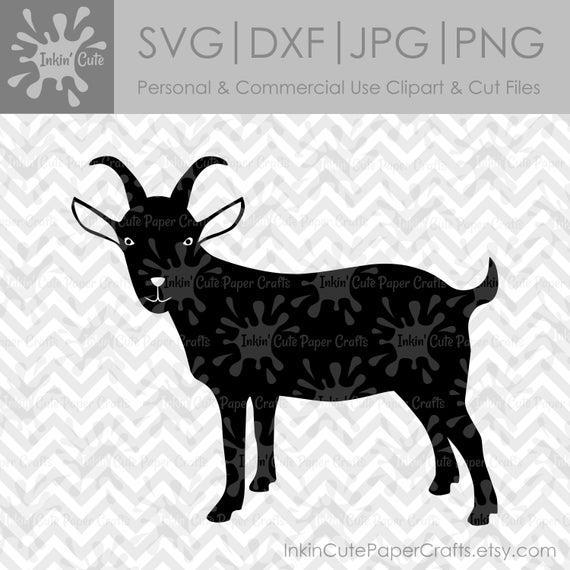 Clipart goat file. Silhouette svg clip art