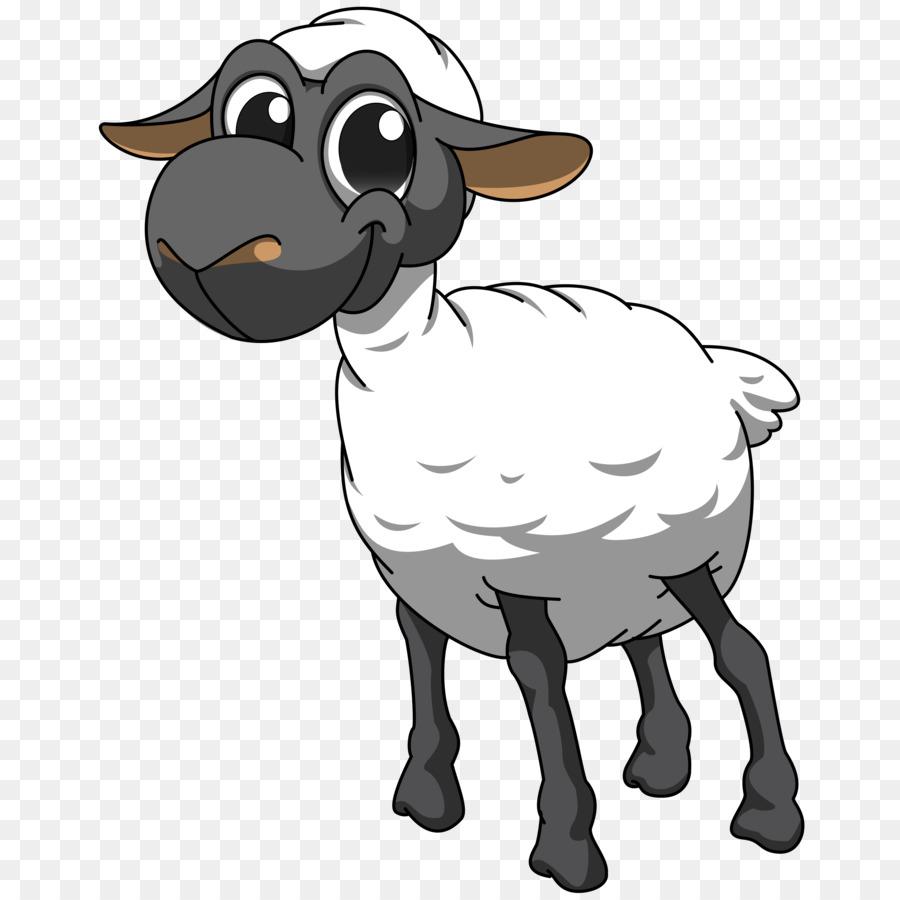 Clipart goat file. Cartoon sheep transparent clip