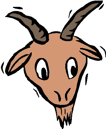 Station . Clipart goat head
