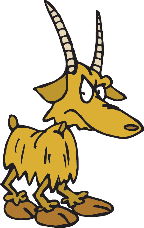 Clipart goat horns. Mountain goats resources science