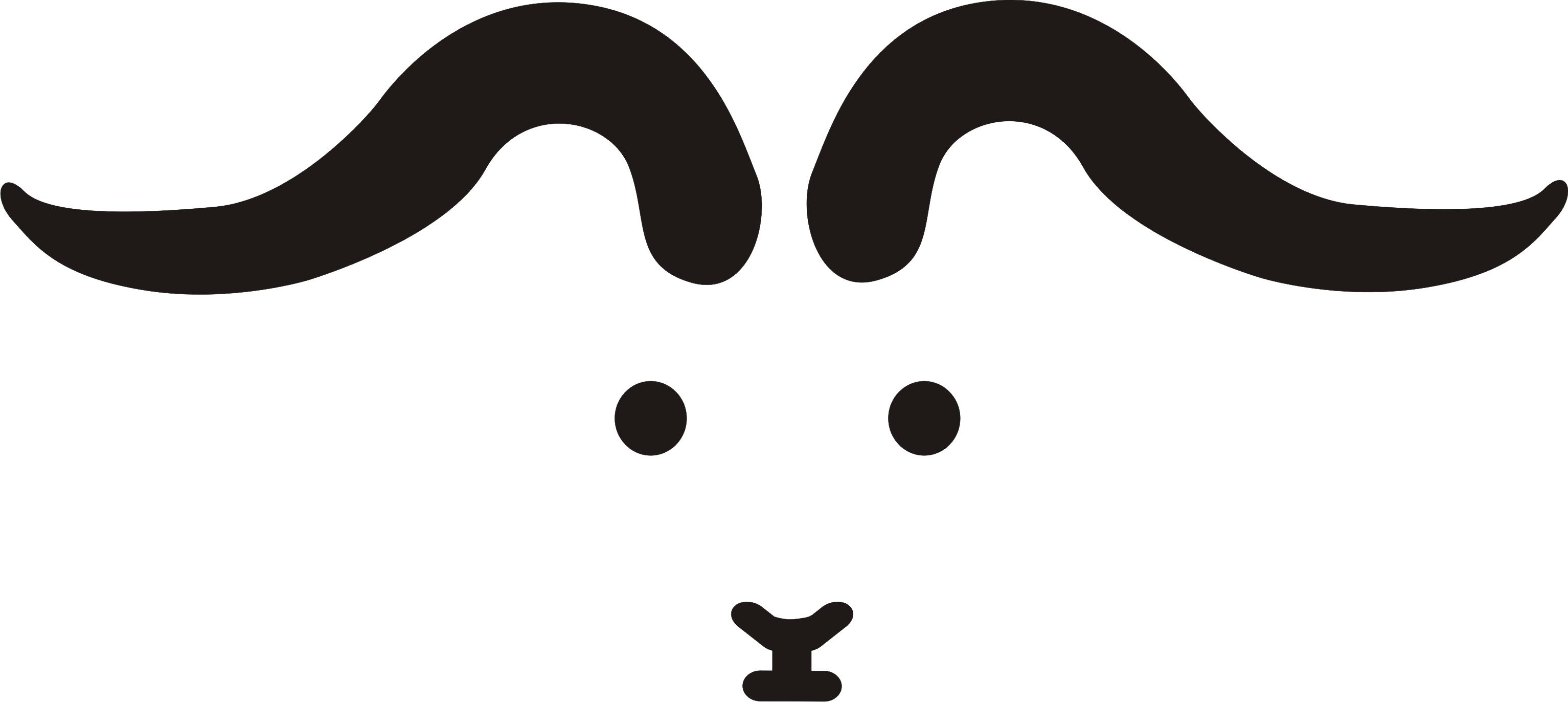 The brand pinterest. Clipart goat horns