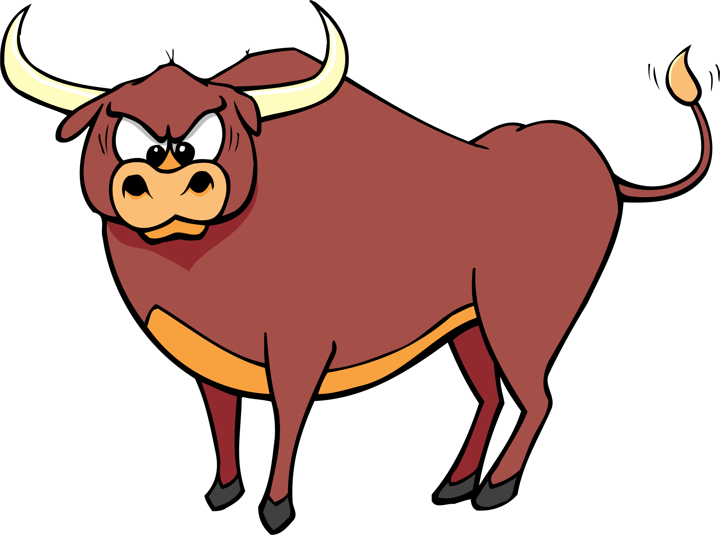 Goat clipart horns. Bull big image png