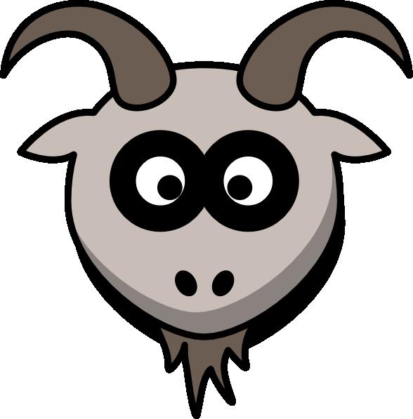 Goat clipart 3 goat. Head clip art at