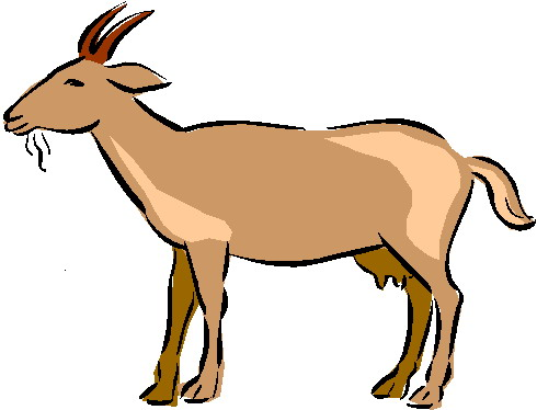 Clip art free download. Goat clipart printable