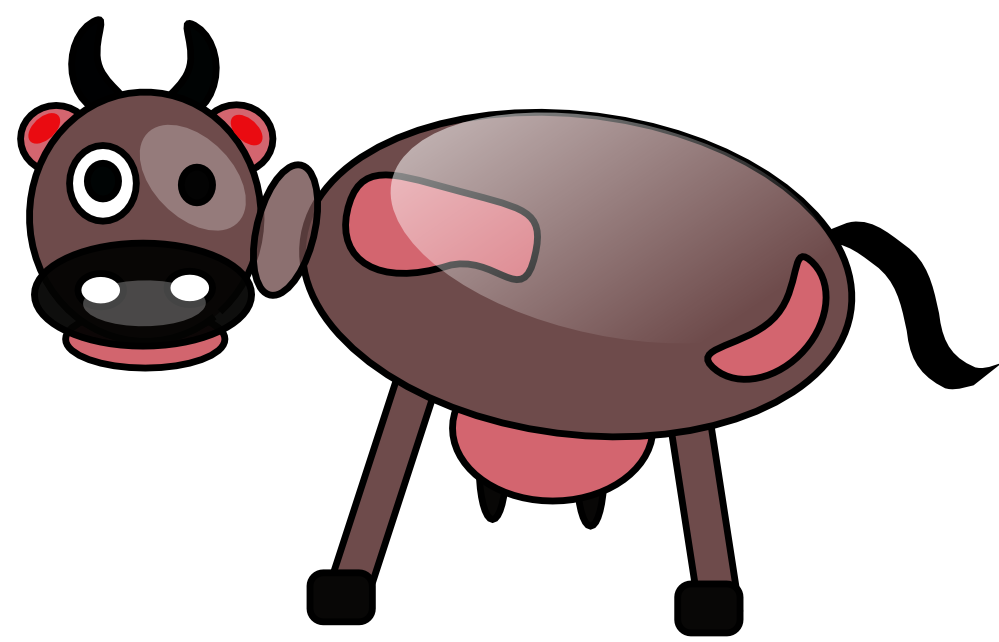Ox clipart kalabaw. Free cow clip art