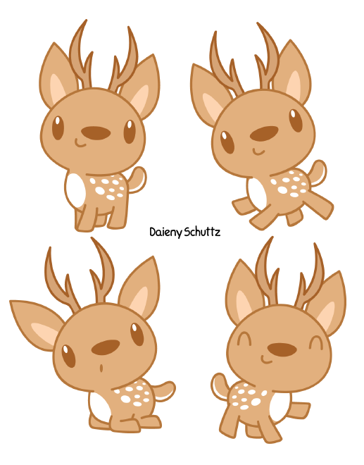 Youtube clipart kawaii. Cute chital by daieny
