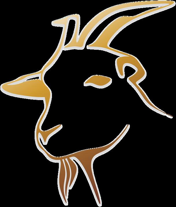 Clipart goat market goat. Logos