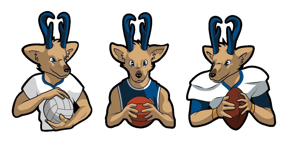 Louie loper design on. Clipart goat mascot