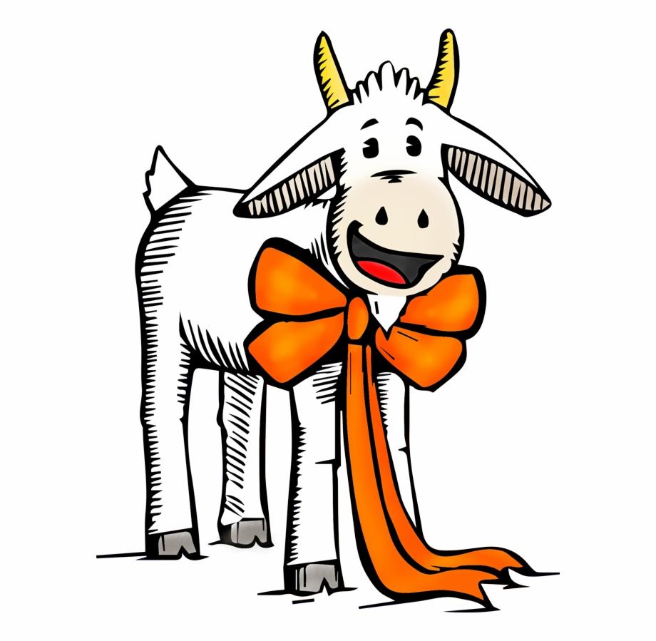 Kids corner cartoon free. Goat clipart mascot