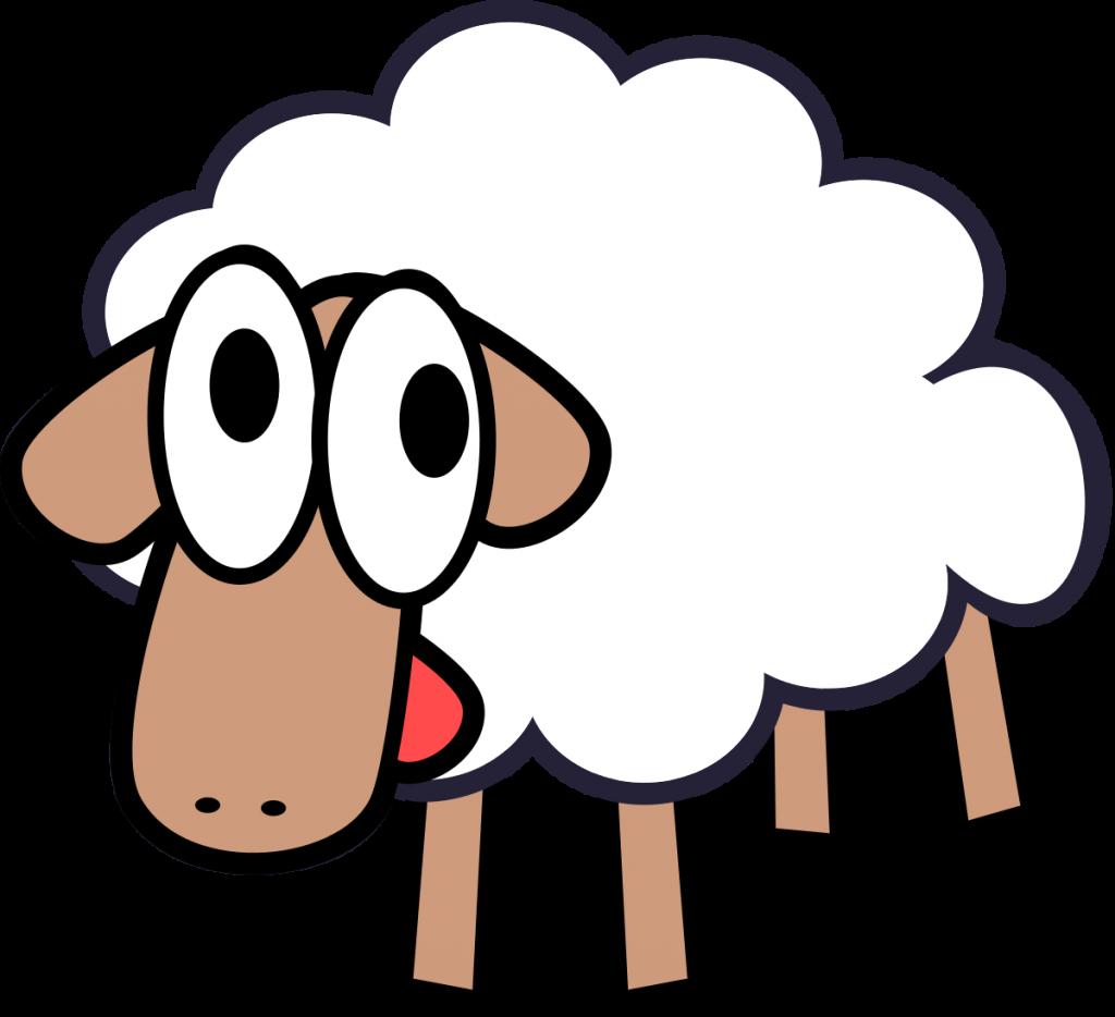 Clipart goat mascot. Baaa belle aire art