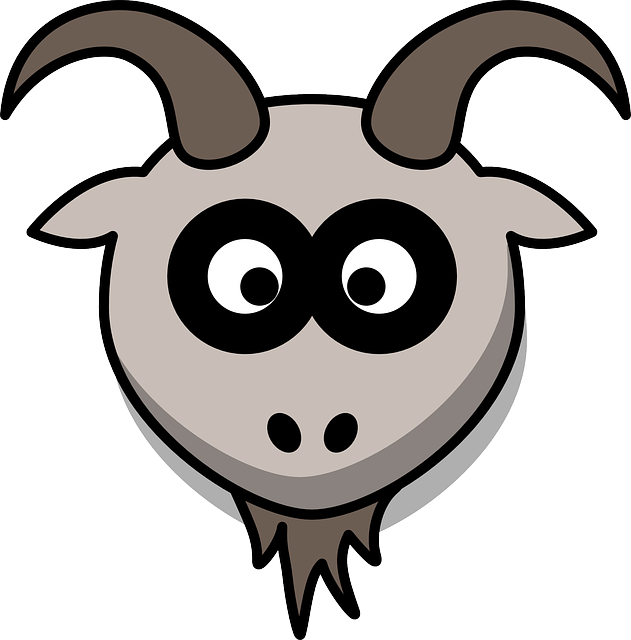 Mask graphics illustrations free. Goat clipart realistic