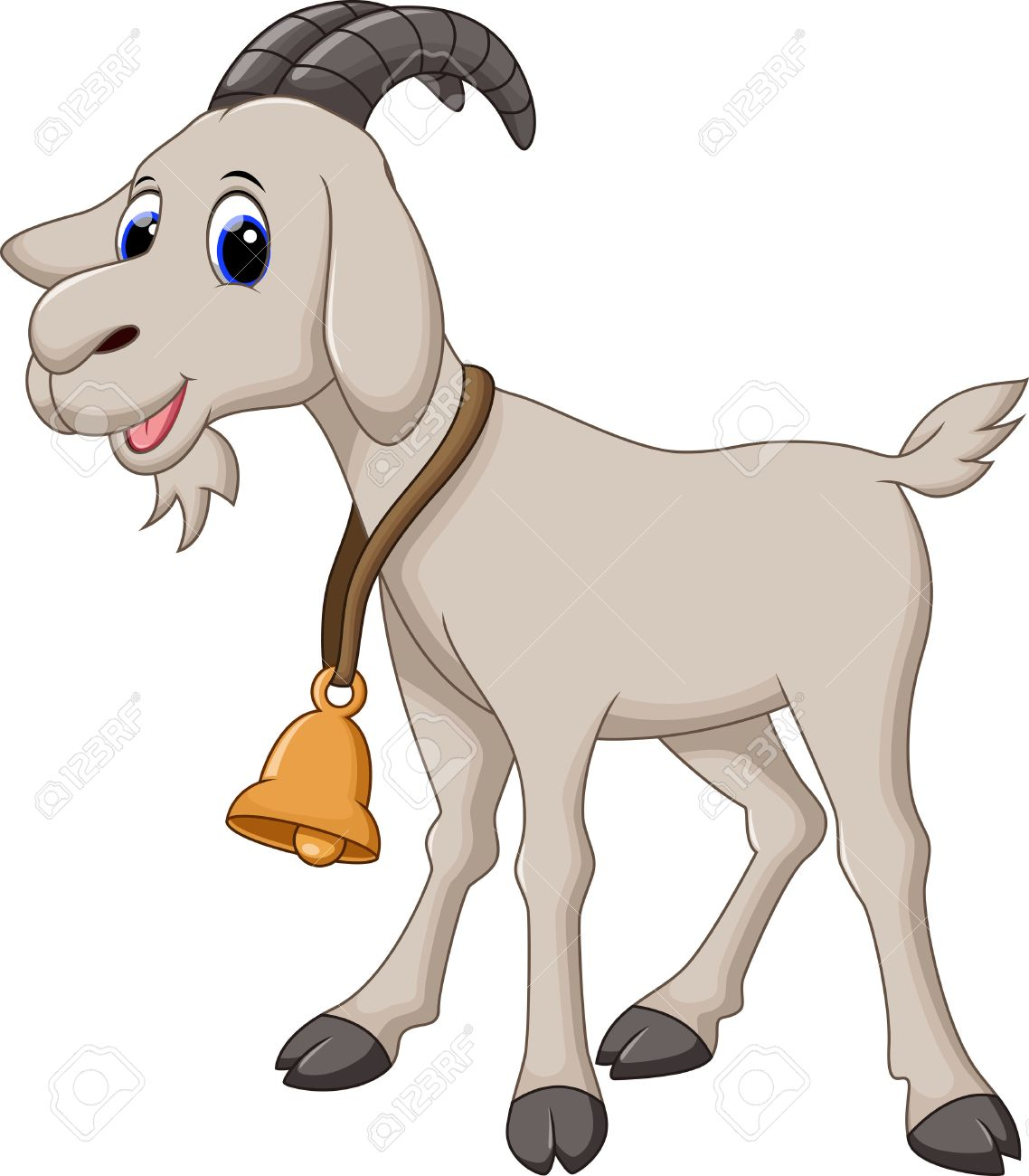 Cute station . Clipart goat part