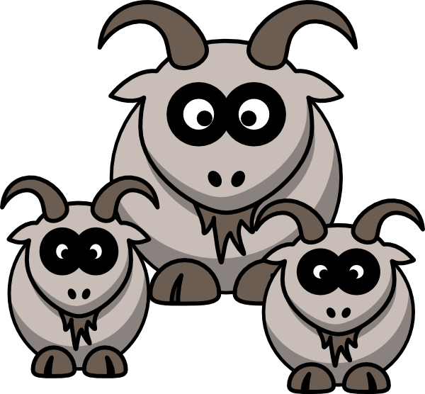 Goat clipart small goat. Baby goats clip art