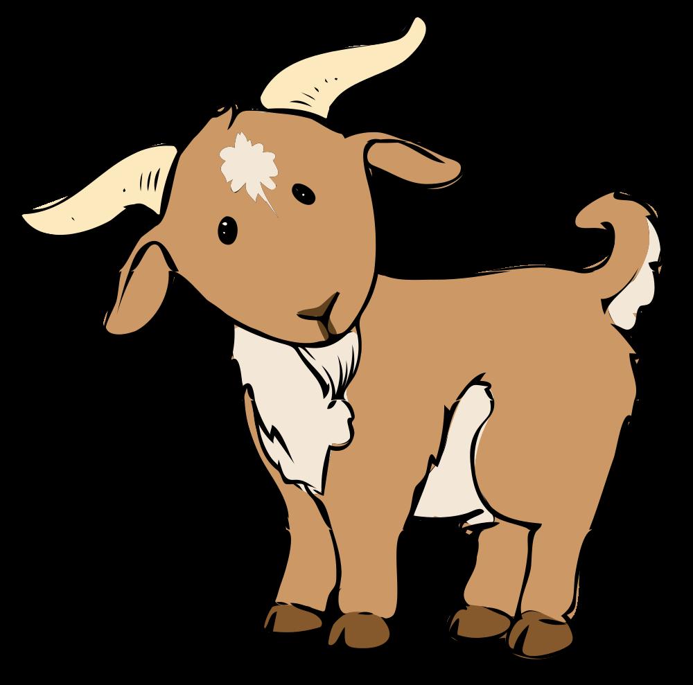 Female clipart goat. Top clip art free