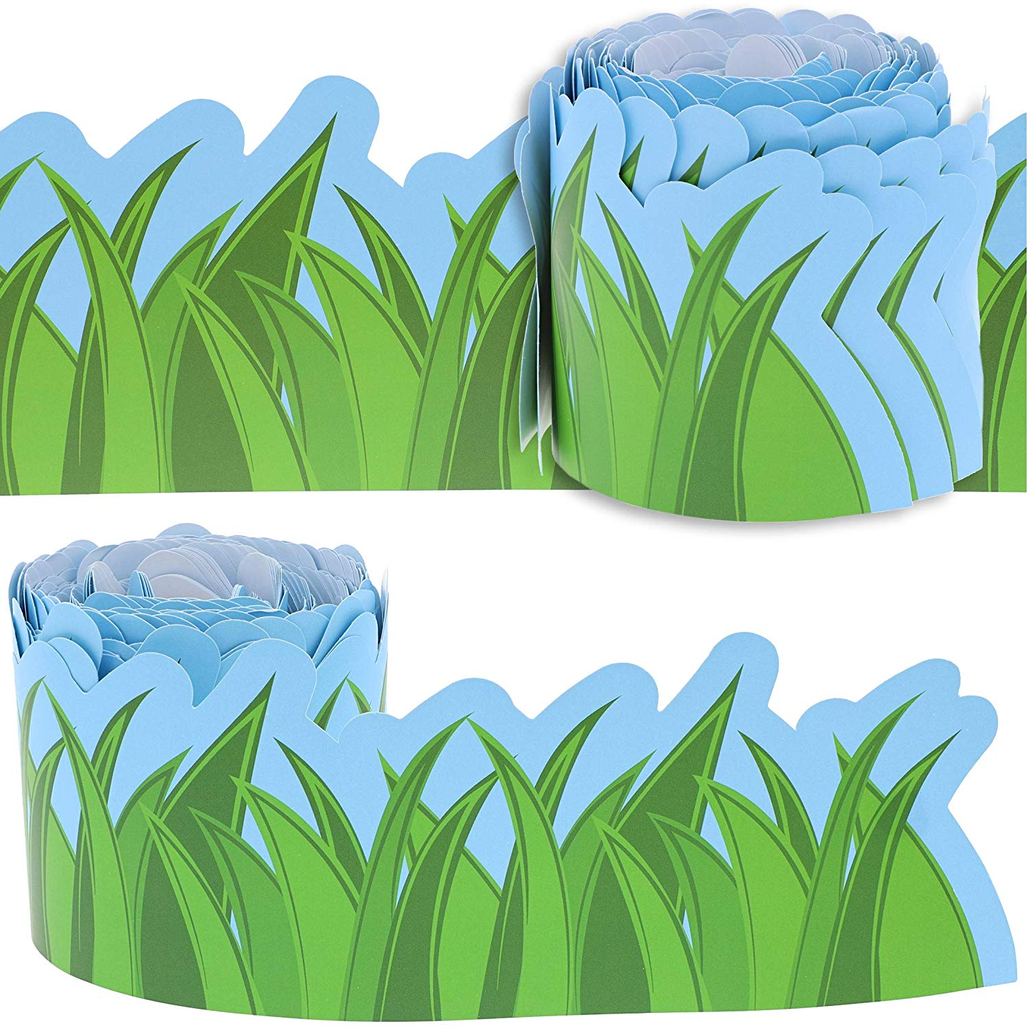 Juvale pack bulletin board. Outdoors clipart strip grass
