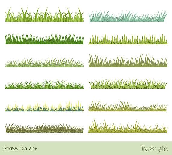 Clipart grass divider. Green clip art spring