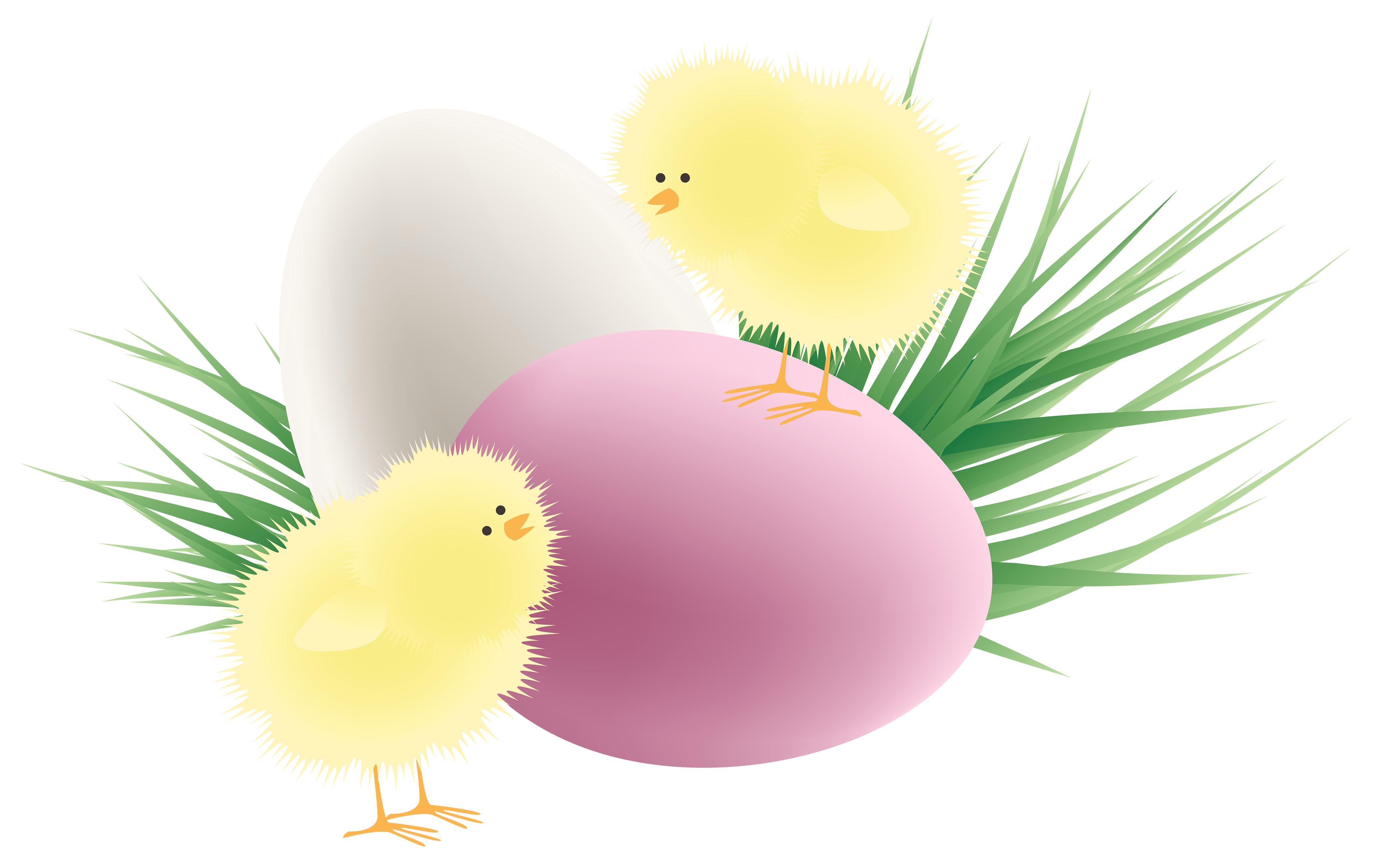 Transparent chickens eggs and. Clipart grass easter egg