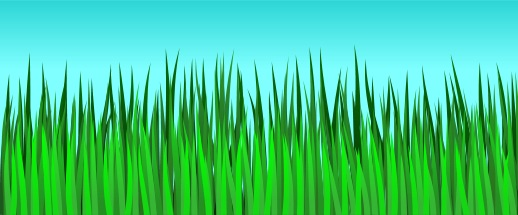 How to draw . Clipart grass easy