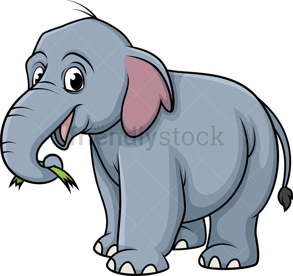 Eating sort in free. Clipart grass elephant grass