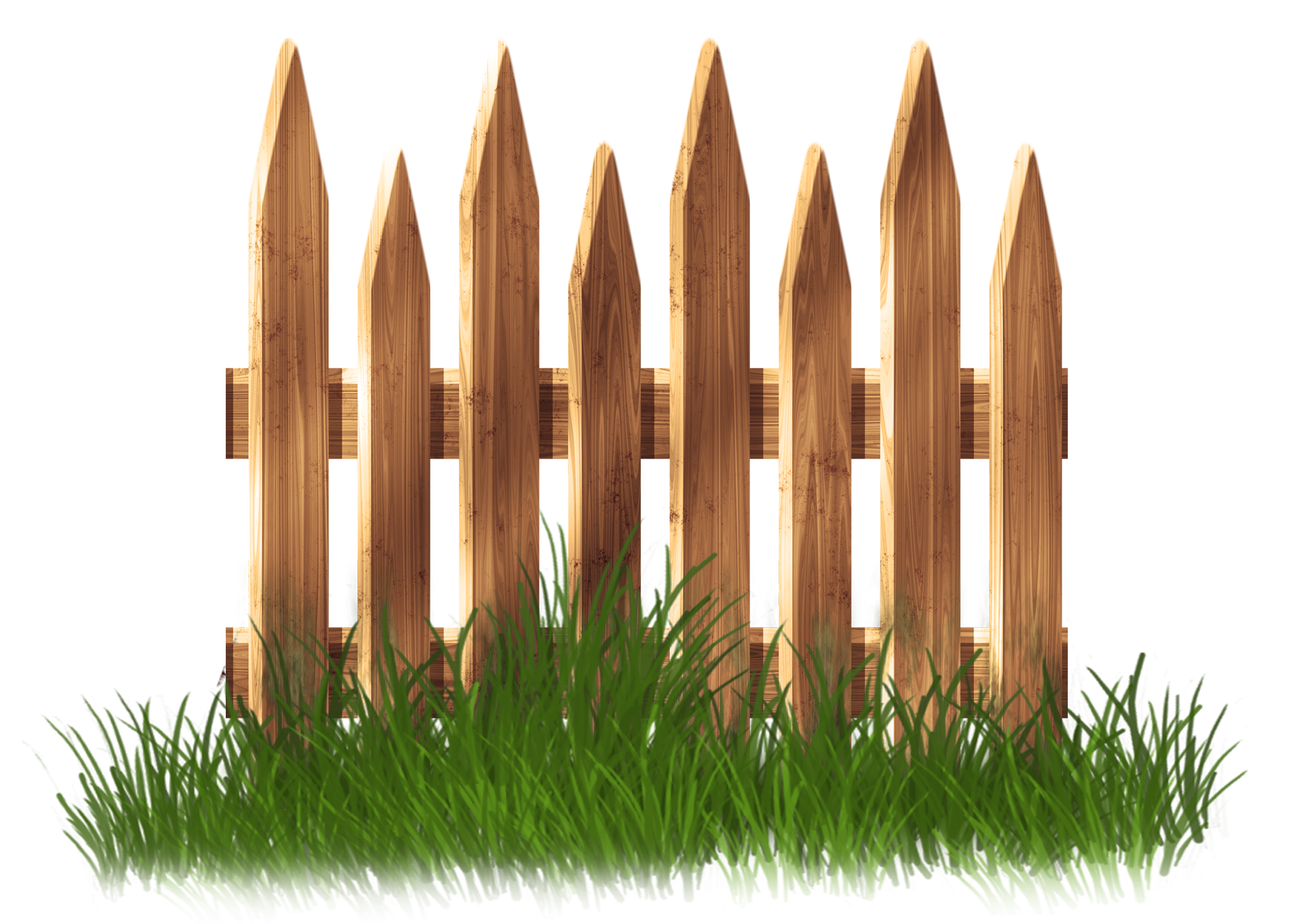 Clipart grass fence. Transparent wooden garden with