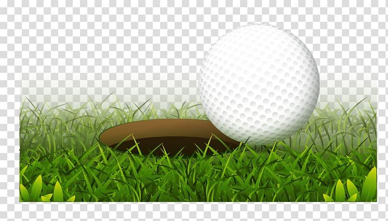 Clipart grass golf. Ball club hole realistic