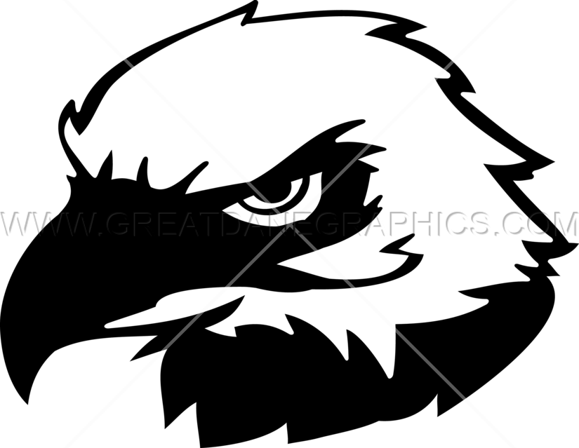 Eagle silhouette at getdrawings. Clipart grass head