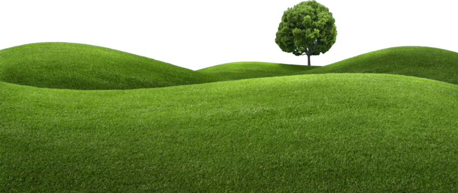 Family tree background garden. Clipart grass hill