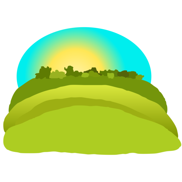 Hills free images at. Clipart mountain grass