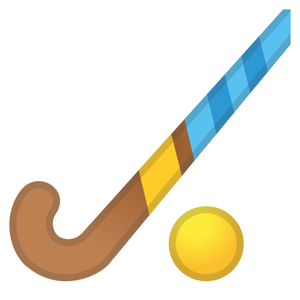 Field icon noto emoji. Clipart grass hockey