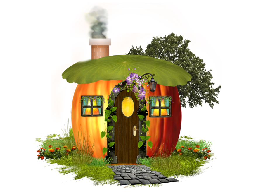 Up clipart house. Pumpkin by moonglowlilly on