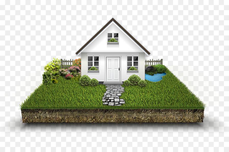 Cartoon home transparent clip. Grass clipart house