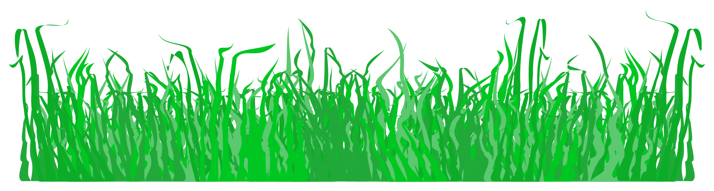 For a lawn big. Clipart grass illustration