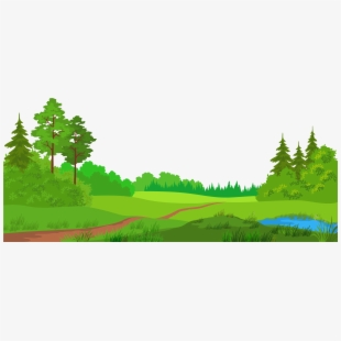 Clipart grass landscape. Landscaping tree and trees