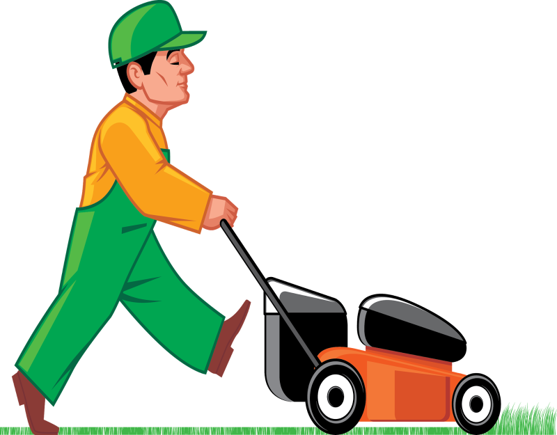 Hubpicture pin . Clipart grass lawn mower