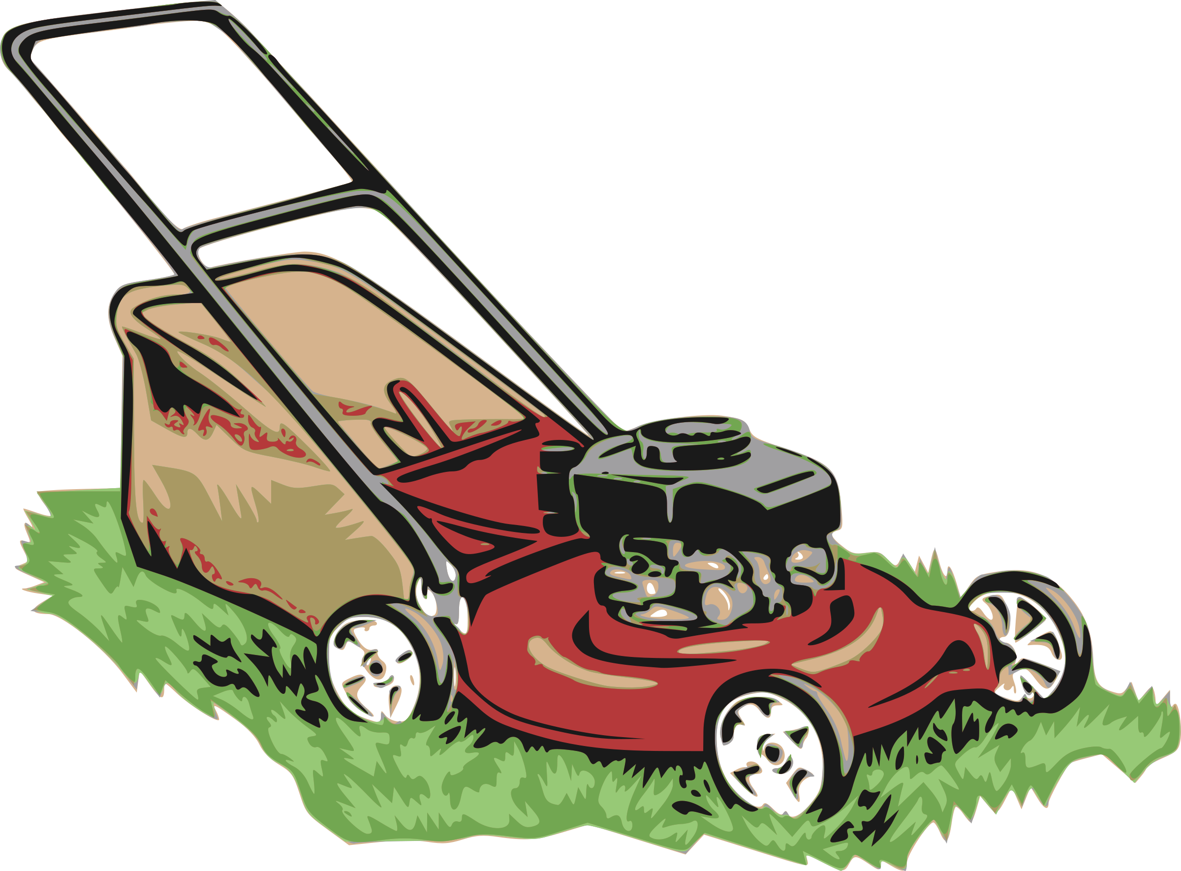 Clipart grass lawn mower.  collection of transparent