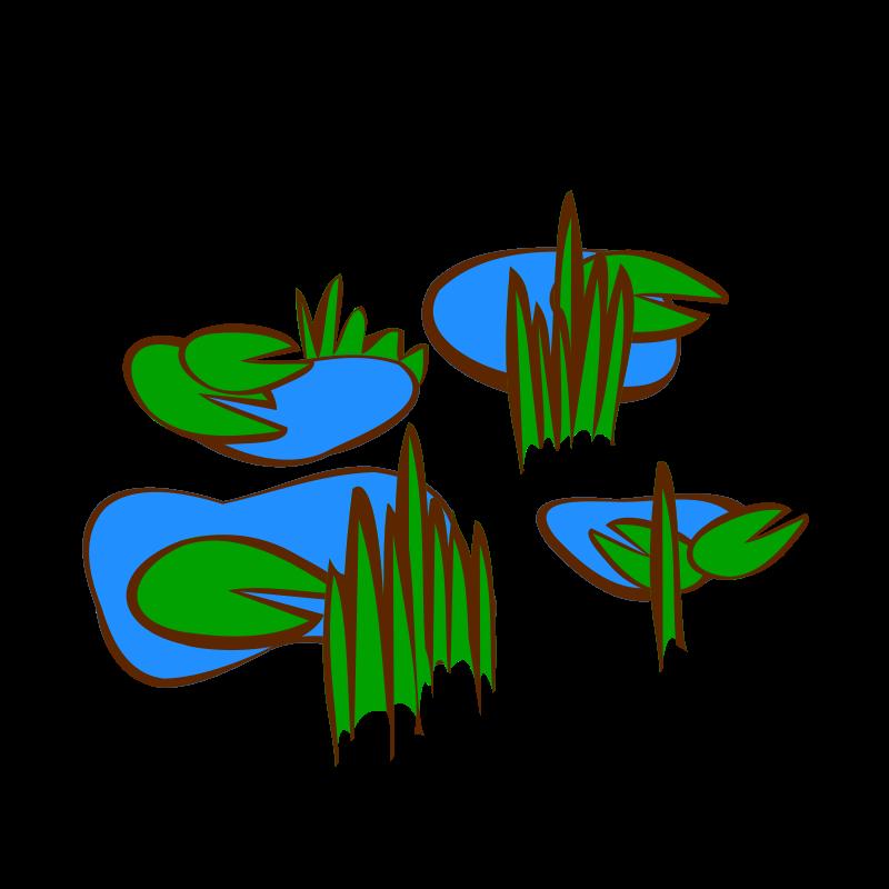 Panda free images marshclipart. Clipart grass marsh