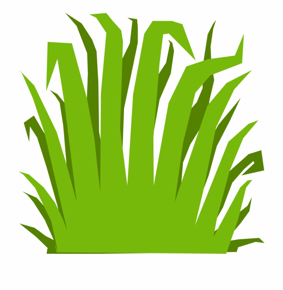 Graphic black and white. Clipart grass marsh
