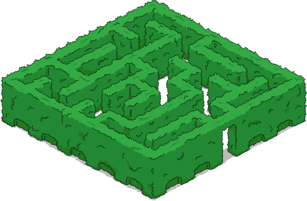 Wookieecorp brings you a. Clipart grass maze