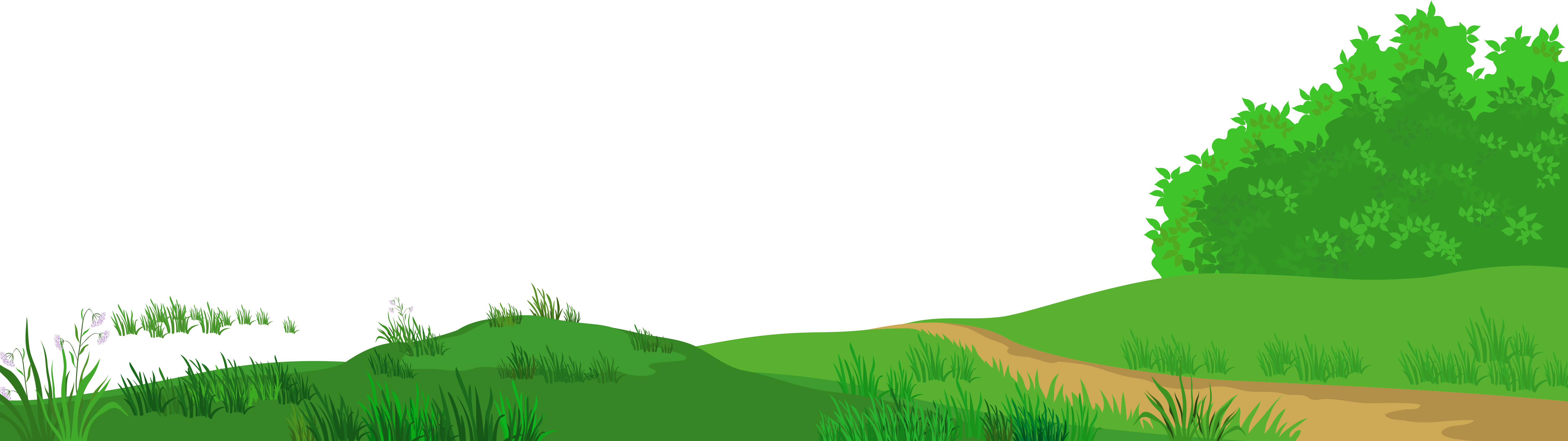 Clipart grass meadow. With path png picture