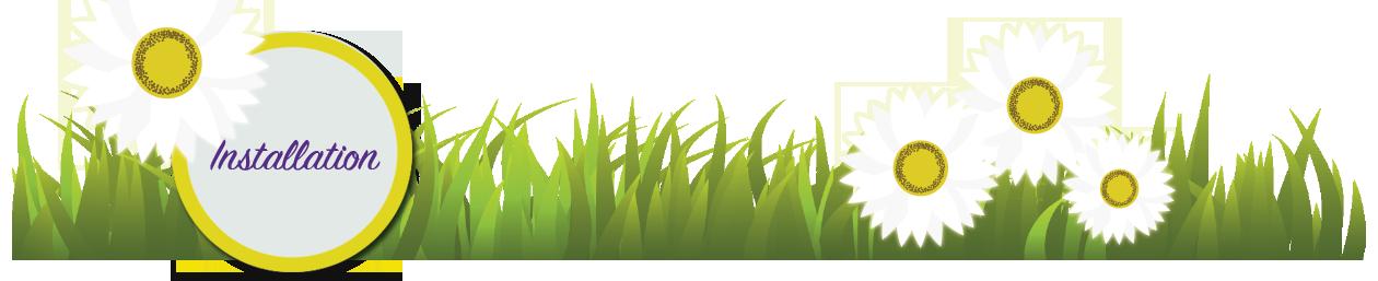 Diy installation contact header. Clipart grass mud