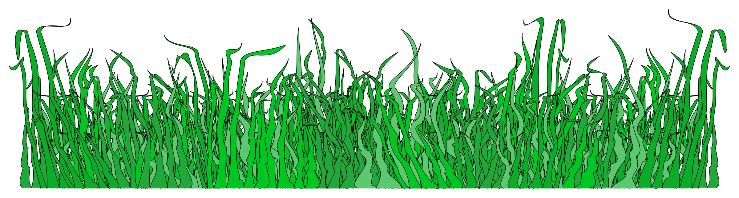 Clipart grass pdf. For the lawn big