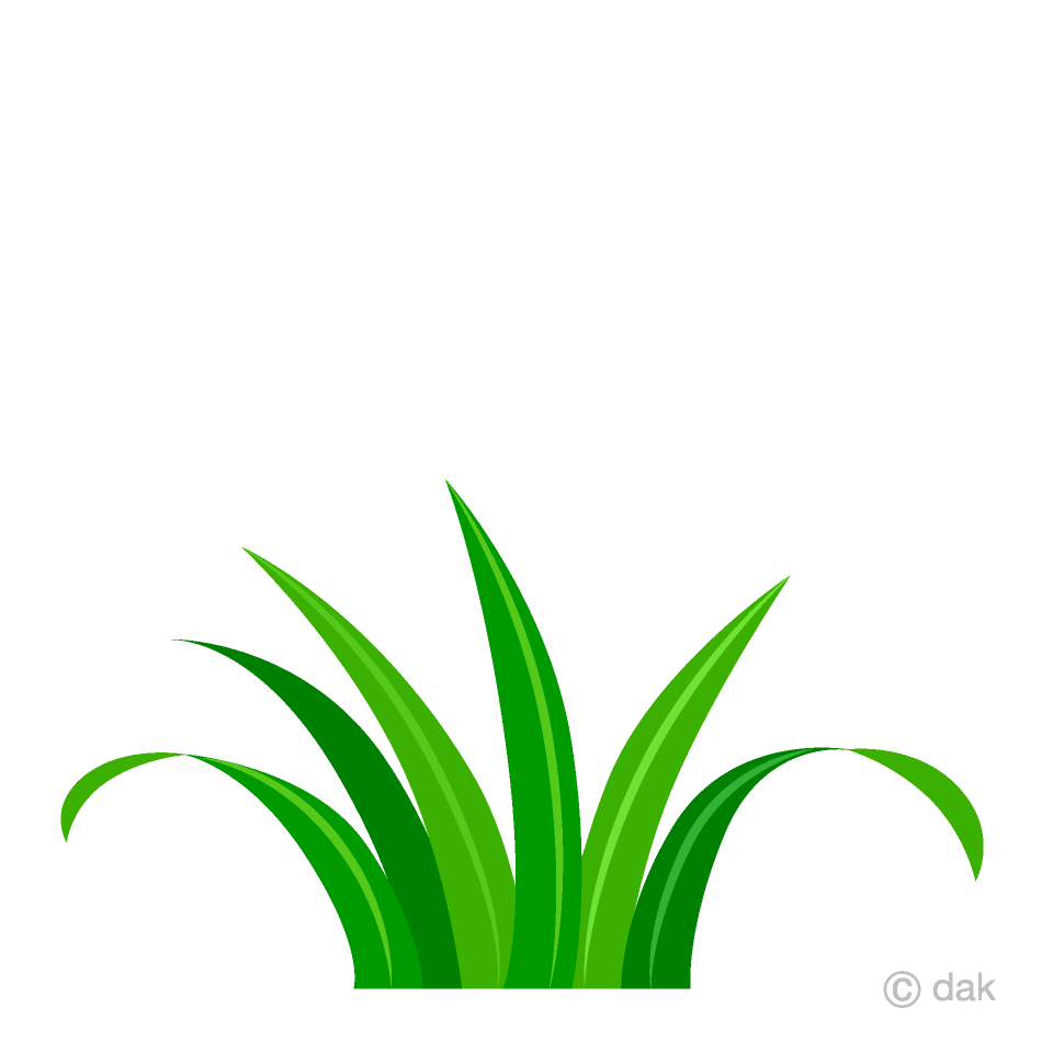 Short free picture illustoon. Clipart grass piece