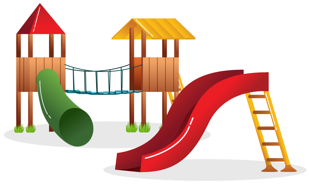 Pictures of equipment group. Clipart grass playground