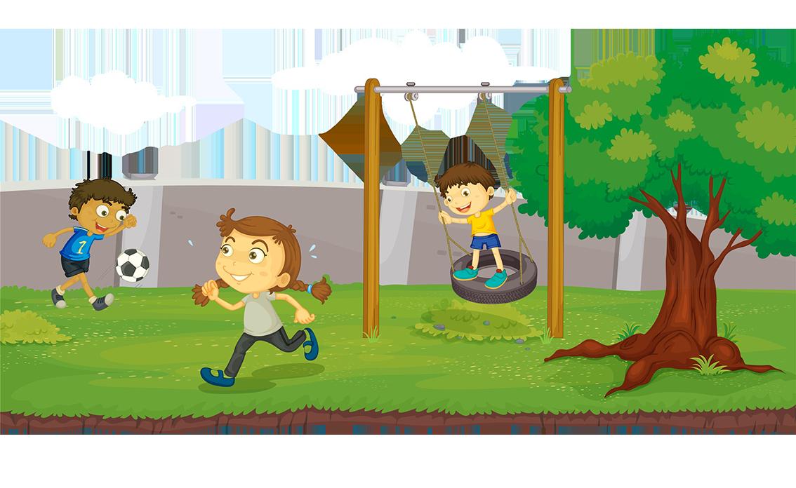 Urban park clip art. Clipart grass playground