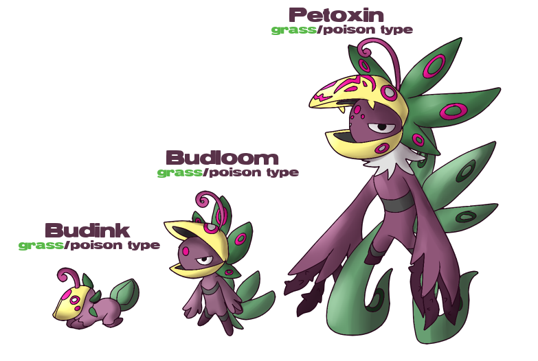 Fakemon plant by glitchgoat. Clipart grass poison